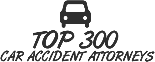 TOP 300 CAR ACCIDENT ATTORNEYS LOGO